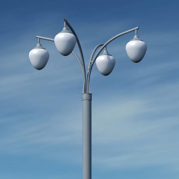 Кронштейн для фонаря уличного